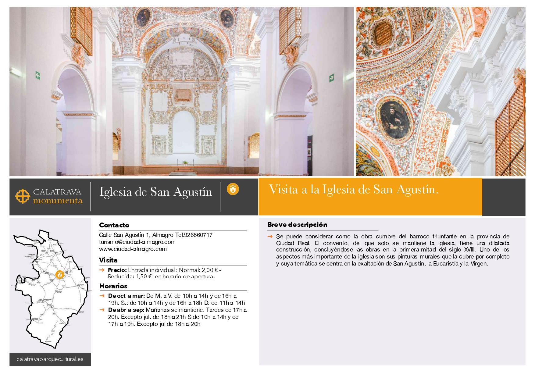 mapa-Iglesia de San Agustín