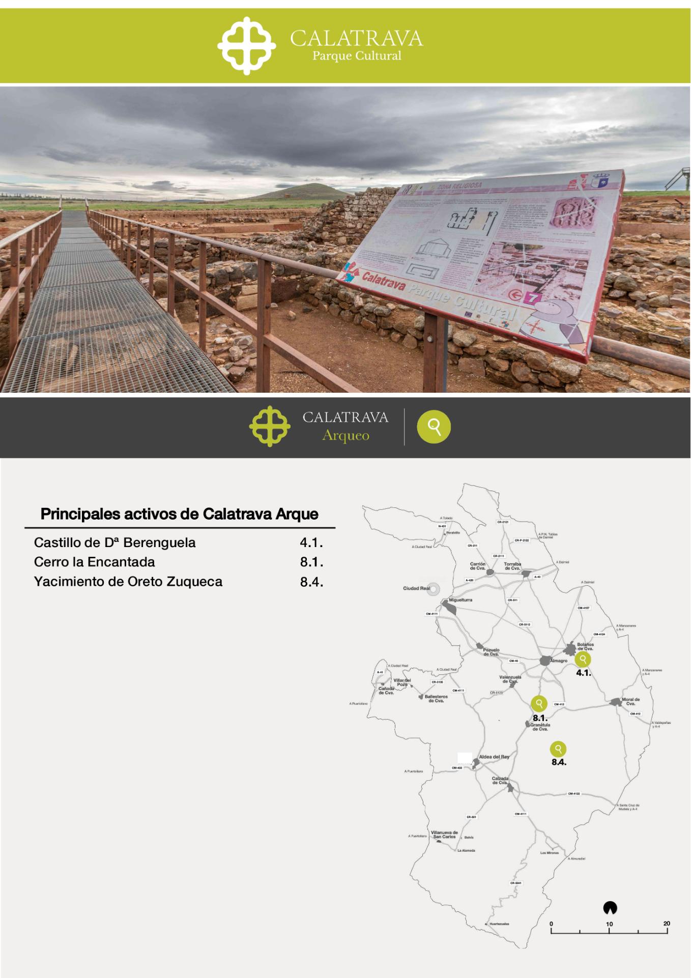 mapa-Calatrava Arqueo