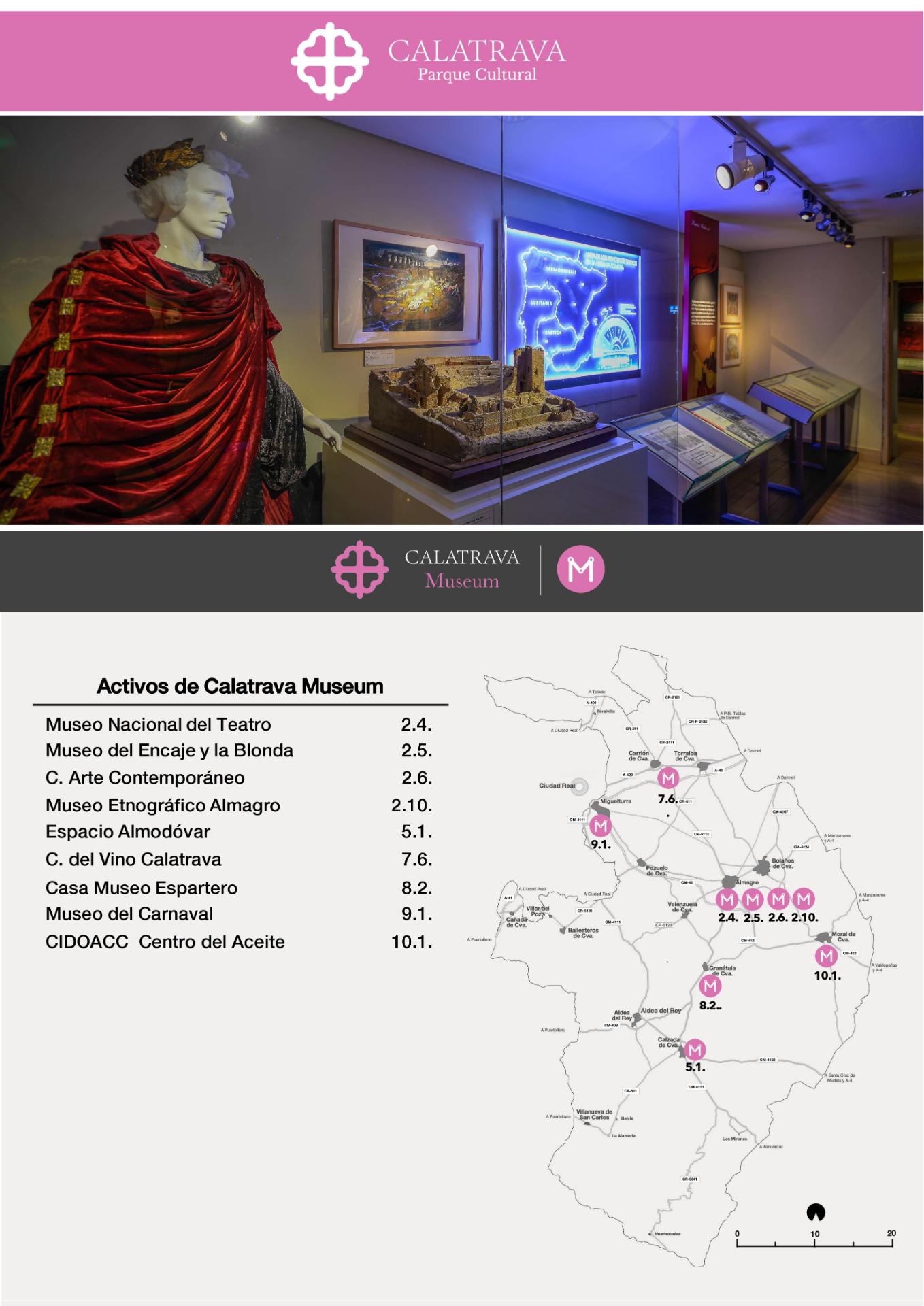 mapa-Calatrava Museum
