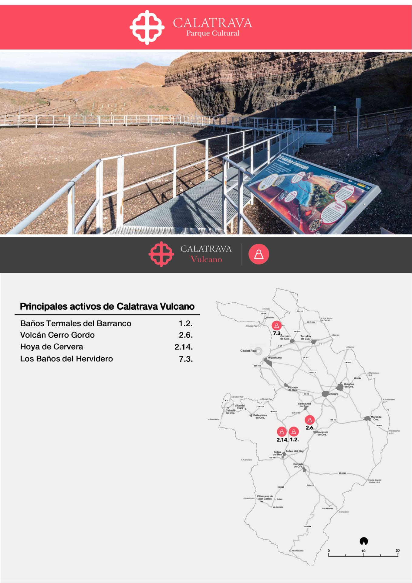 mapa-Calatrava Vulcano