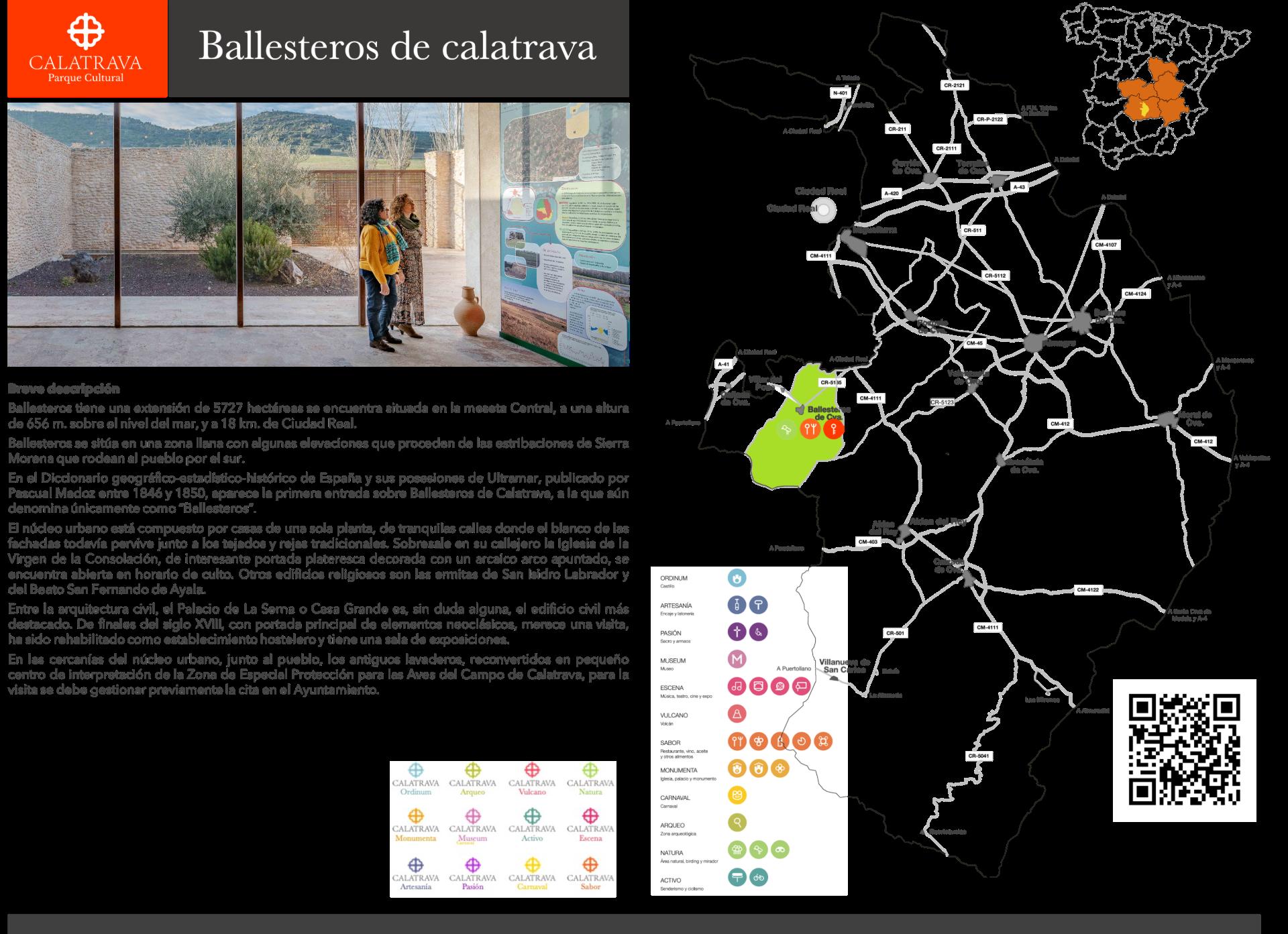 mapa-Ballesteros de Calatrava