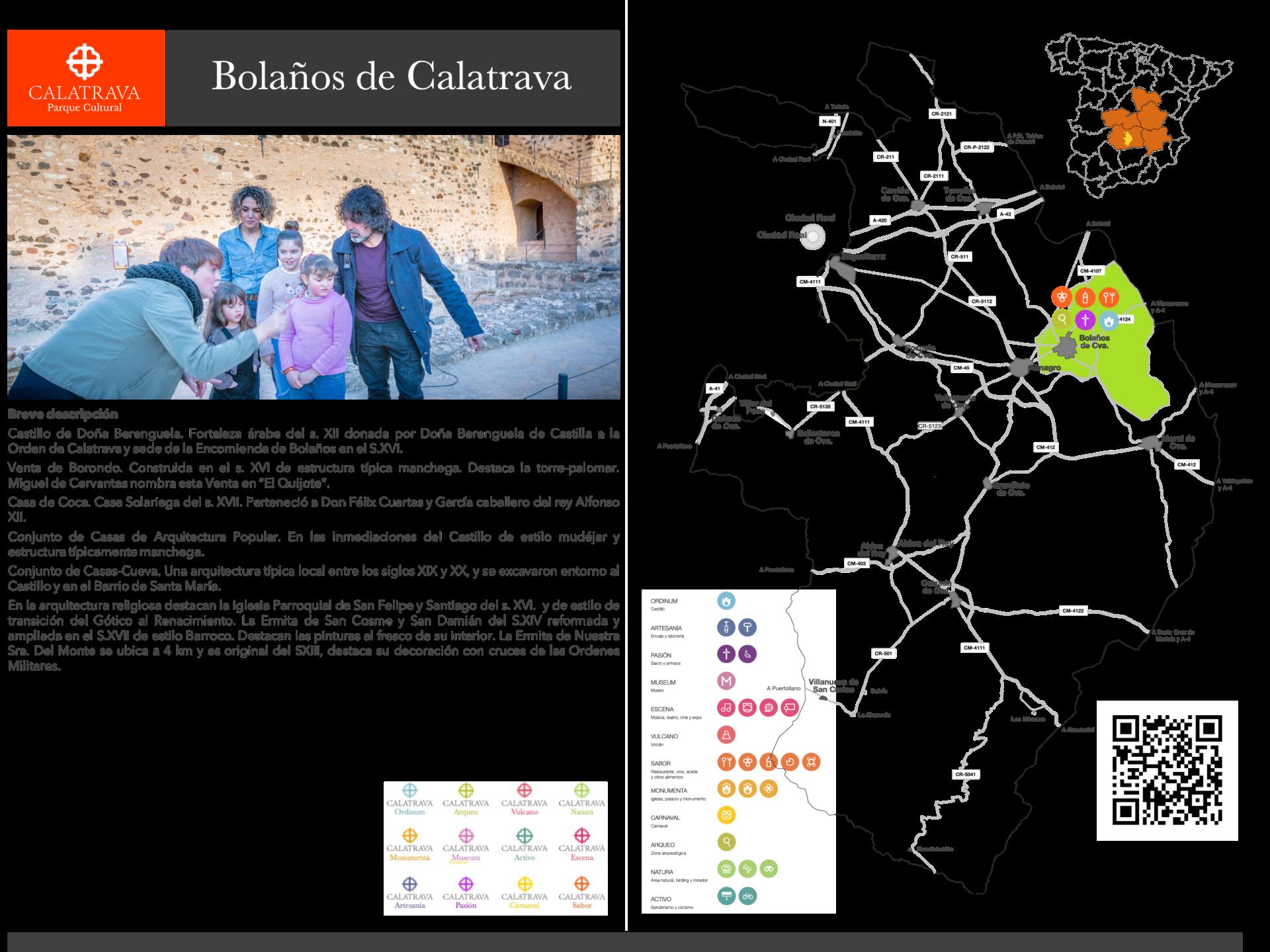 mapa-Bolaños de Calatrava