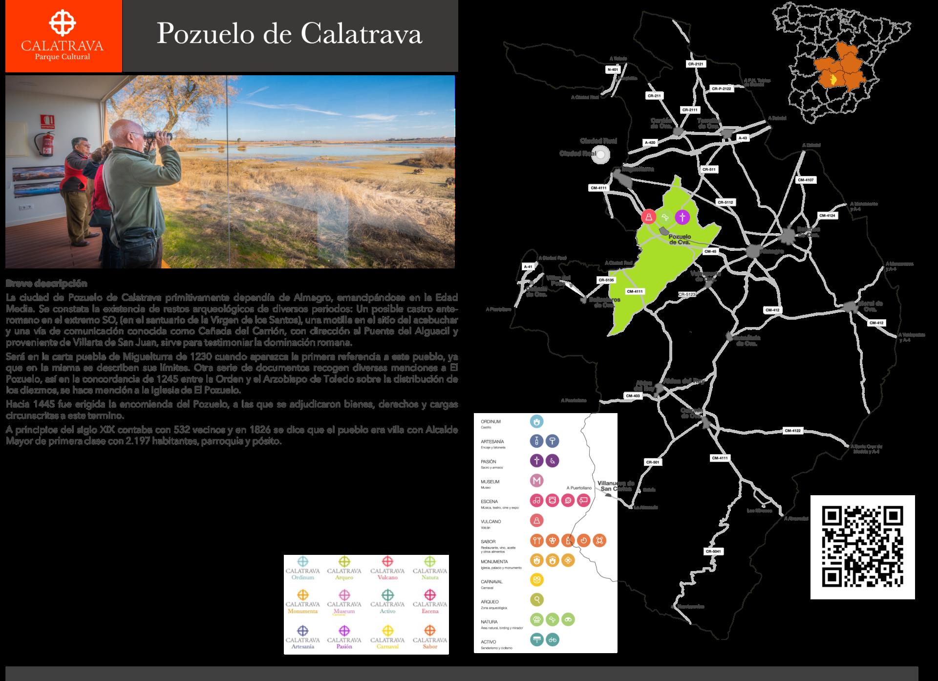 mapa-Pozuelo de Calatrava