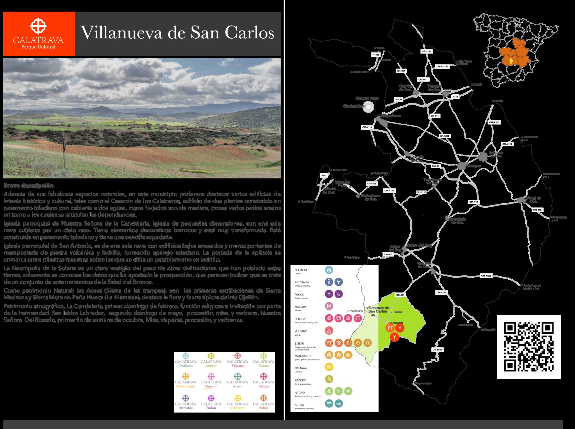 mapa-Villanueva de San Carlos