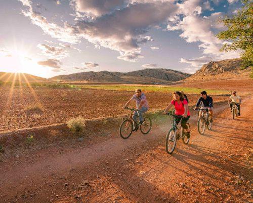 Ciclo-turismo por Granátula